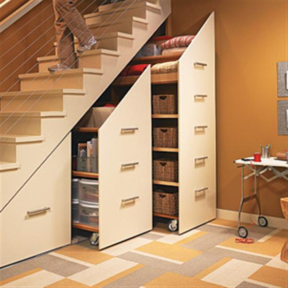 cabinet-under-staircase-space-saving-ideas